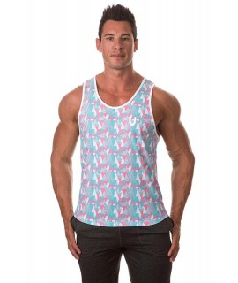 Bloke Digital Camo Stringer Pink
