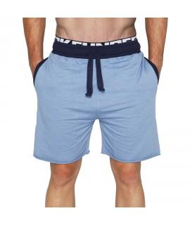 Bloke Active Shorts Organic Light Blue