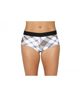 Her Undees Sports Boxer Flanny Grey & Blue