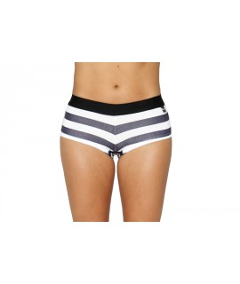 Her Undees Sports Boxer Stripes Navy
