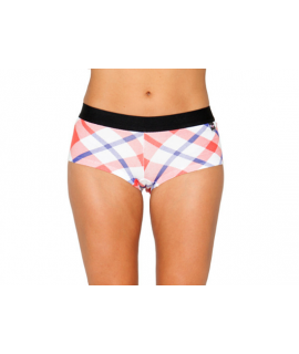 Her Undees Sports Boxer Flanny Red & Blue