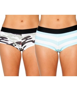 Her Undees Sports Boxer 2 Pack Volume 2